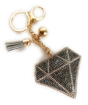 PK014 DIAMOND CRYSTAL KEYCHAIN