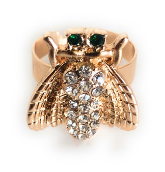 PK442 Bee Diamond Ring