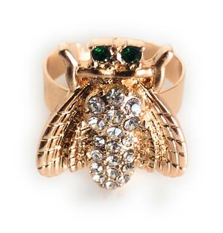 PK442 Bee Diamond Ring