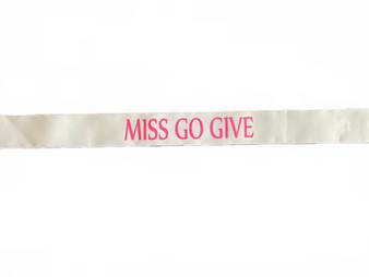 R006 MISS GO GIVE