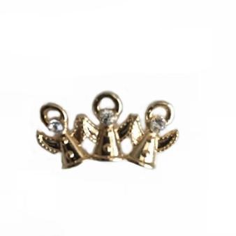 PK052 TRIPLE ANGELS PIN