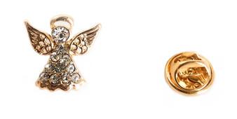 PK058 DIAMOND ANGEL PIN