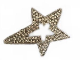 PK397 SILVER STAR PIN