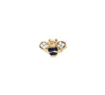 PK024 MINI BUMBLE BEE DIAMOND PIN
