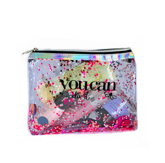 C023 COSMETIC CONFETTI BAG LARGE