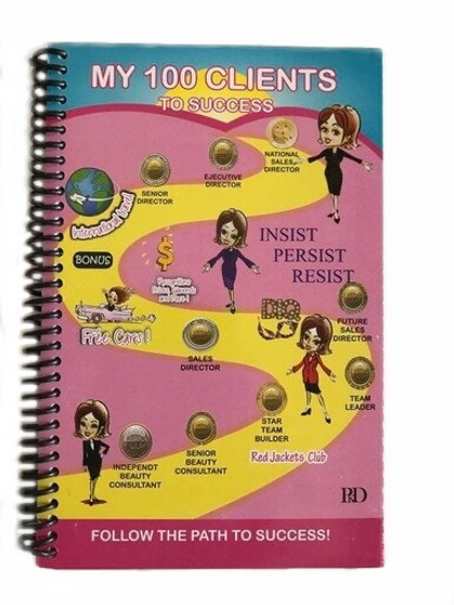I011E MY 100 CLIENTS NOTEBOOK