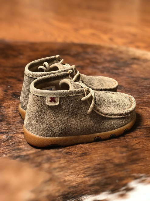 INFANT BOMBER IN DUSTY TAN