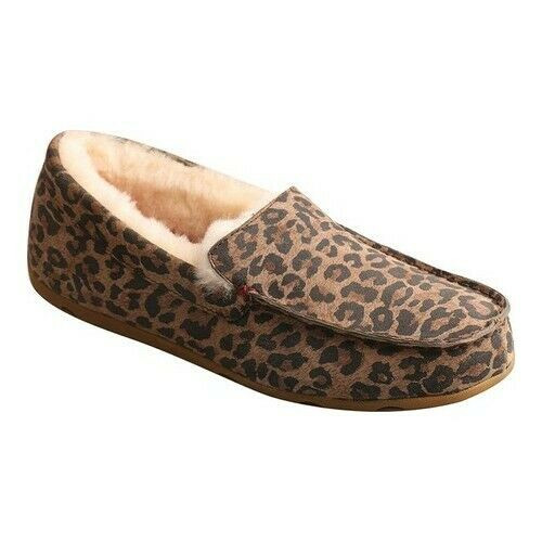 WOMEN'S SLIPPER IN LEOPARD