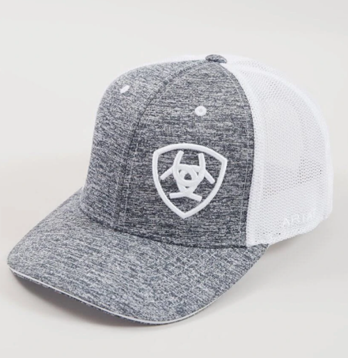 ARIAT GREY/WHITE HAT