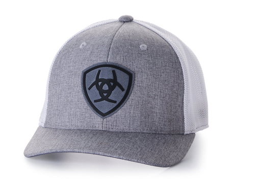 ARIAT GREY LOGO HAT