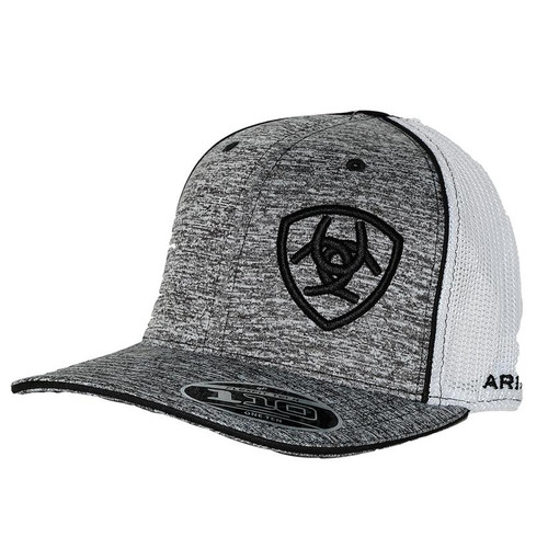 ARIAT GREY/BLACK HAT