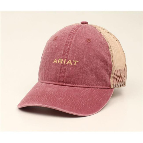 ARIAT MAROON HAT
