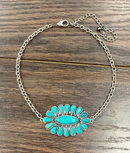 TAYLOR TURQUOISE NECKLACE