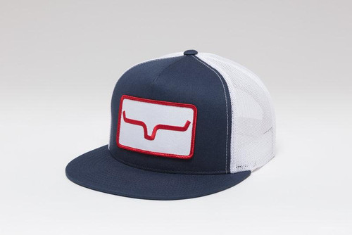 KIMES BANNER VENTILATED - NAVY/WHITE HAT
