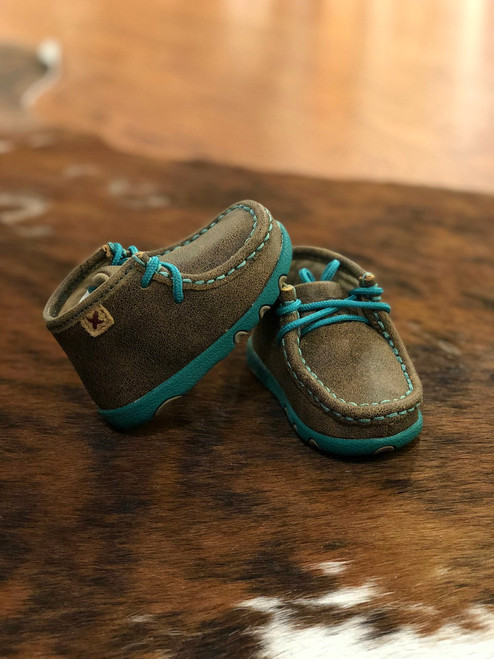 INFANT BOMBER IN TURQUOISE