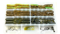 "Custom 3.5"" Food Chain Tube/3.5"" Craw D'oeuvre Combo Kit"