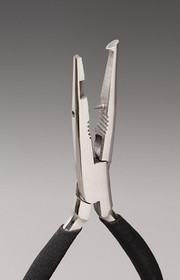 Stainless Split Ring Pliers with Jig Eye Punch