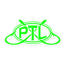 Bubble-free PTL Logo sticker