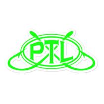 Bubble-free PTL Logo sticker