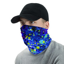 Neck Gaiter-Blue Water