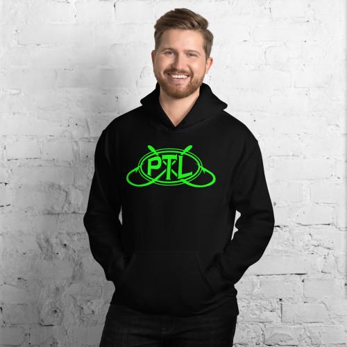 PTL Unisex Hoodie Green Logo