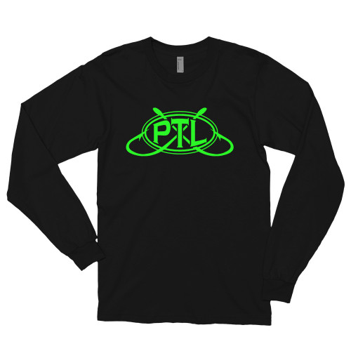 Long sleeve t-shirt Green Logo