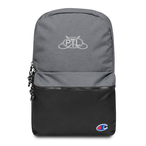 Embroidered PTL Logo Champion Backpack