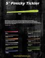 """JP Hammer Shad Drop Shot Kit - Custom 5"""" Finicky Tickler/3.6"""""""