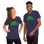 Short-Sleeve Unisex T-Shirt Green Logo