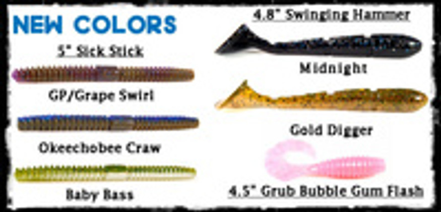 New colors, terminal tackle and tungsten