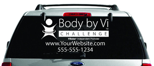 ViSalus Body by Vi Window Decal