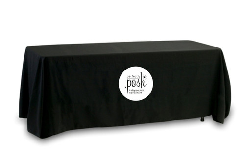 Perfectly Posh (Circular Logo) Tablecloth