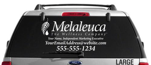 Melaleuca Single Color Custom Vehicle Decal