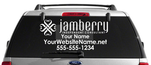 Jamberry Nails Car Decal