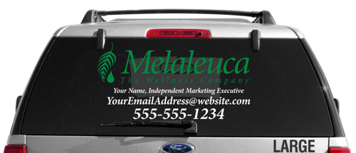 Melaleuca Dual Color Custom Vehicle Decal