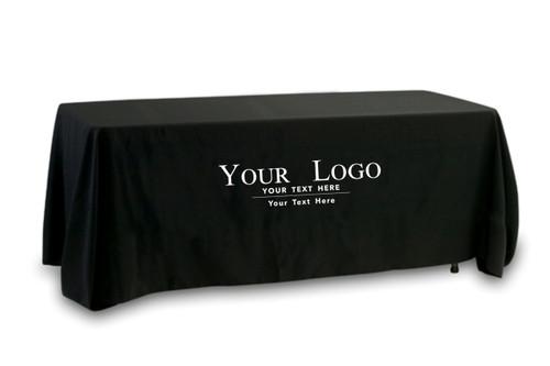 Your Logo Tablecloth- Single Color Logo 1