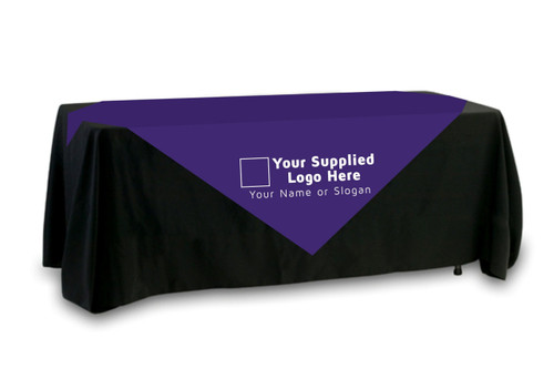 Your Supplied Logo Table Overlay (Single Color Logo)