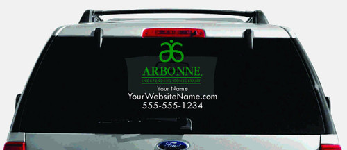 Arbonne Dual-Color Logo Car Decal