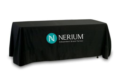 Nerium Preimum Quality Tablecloth - Full Color Logo