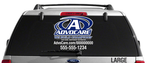 AdvoCare Standard Decal- Dual Color