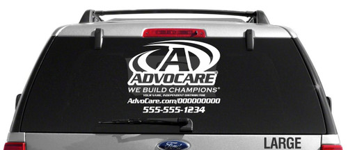 AdvoCare Sport-Style Decal