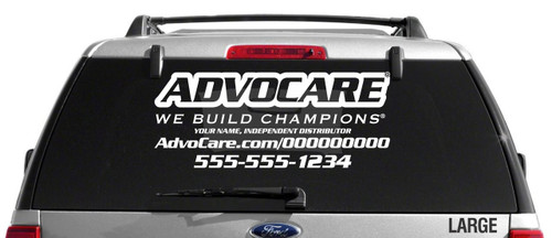 AdvoCare Sport Slim-Style Decal