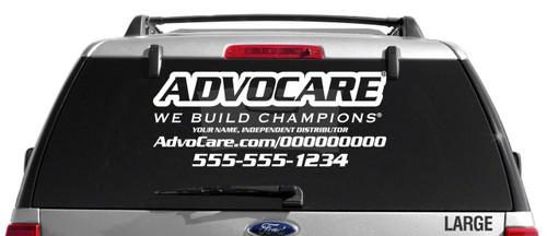 AdvoCare Sport Slim-Style Decal
