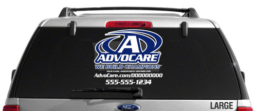 AdvoCare Sport-Style Decal- Dual Color