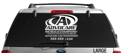 AdvoCare Champ-Style Decal