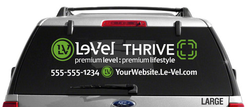 Le-Vel Thrive Decal - Dual Color