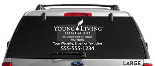 Young Living Decal - Single Color