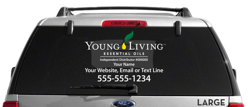 Young Living Decal - Multi-Color
