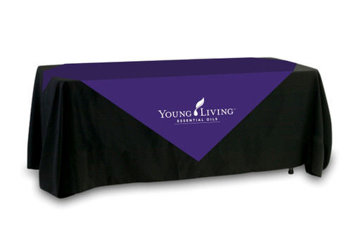 Young Living Table Overlay - Single Color Logo