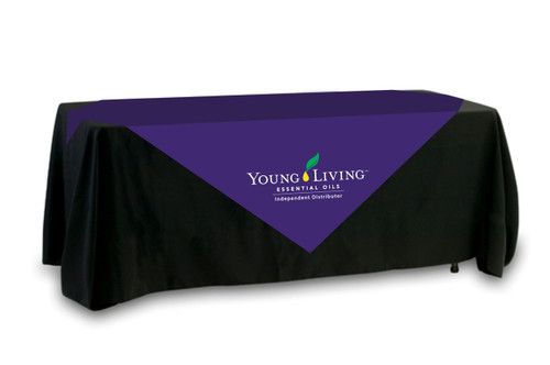 Young Living Table Overlay - Multi Color Logo